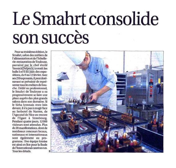 Le Smahrt consolide son succès