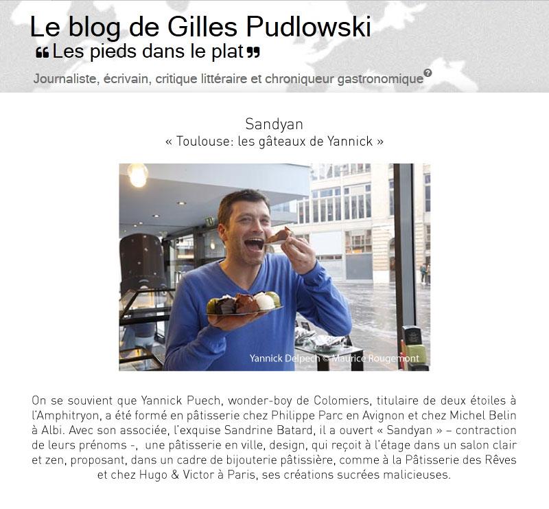 Toulouse : les gâteaux de Yannick